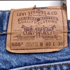 """7/1 """"Levi's""""505 Super Big Denim"""