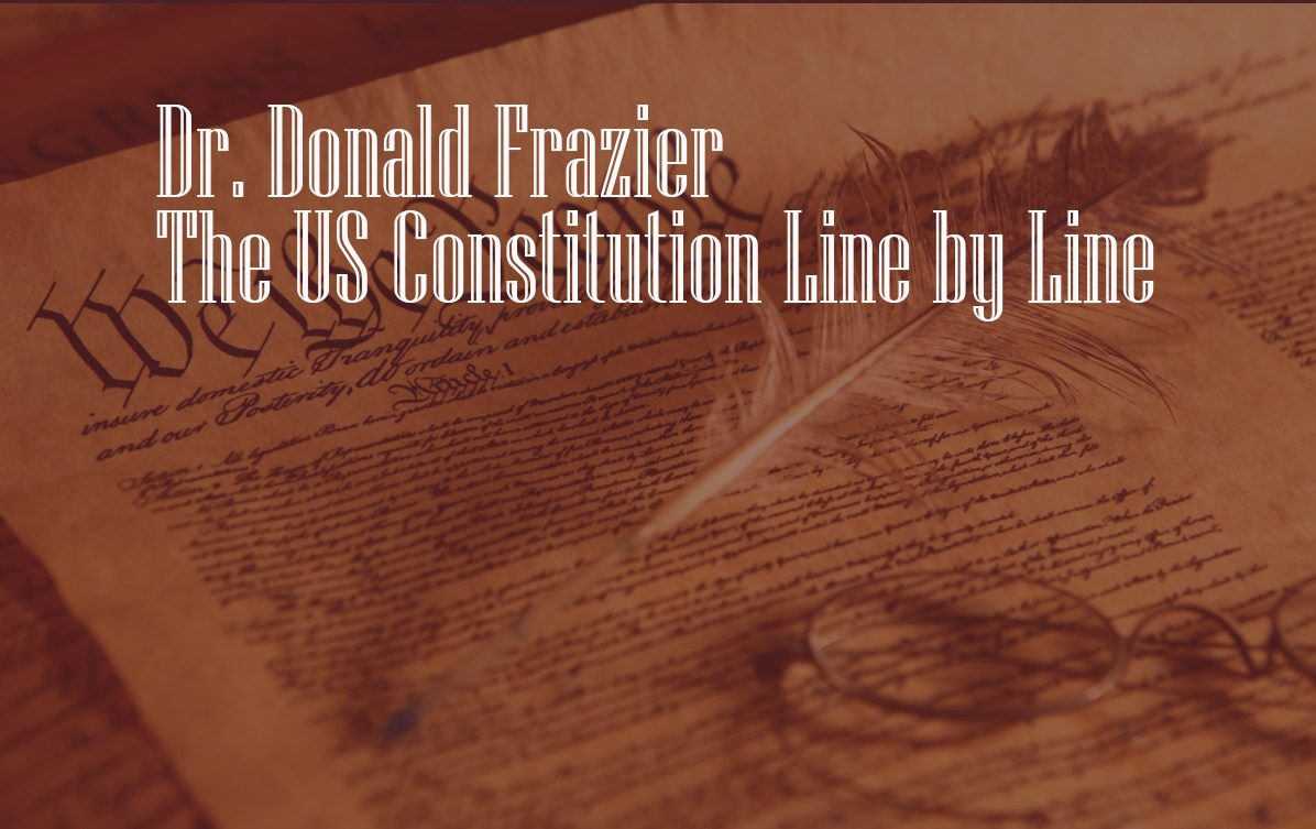 The US Constitution Line by Line
