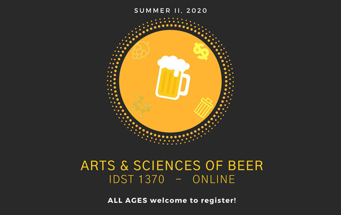 Summer 2020 Arts and Sciences of Beer