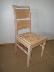 635 Stuhl canad. Ahorn, Einlage in Esche (2)