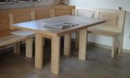 Tisch mit HPL + Rahmen-Fußgestell