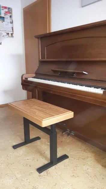 Wood Balance® Klavierbank mit Liftomat(4)