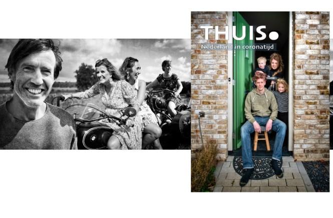 Thuis. Foto's en verhalen van Nederland in coronatijd