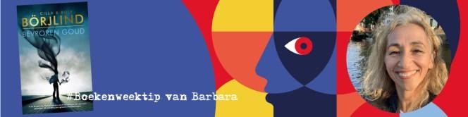 Boekenweektip van Schrijfjuffer Barbara 'Bevroren Goud'