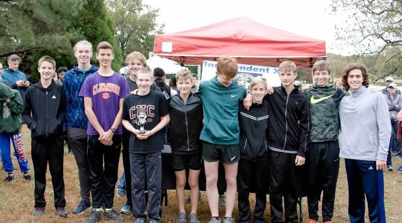 2018 Boys SCHSAA XC Champions