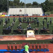 2017 South County Marching Band at Herndon High School