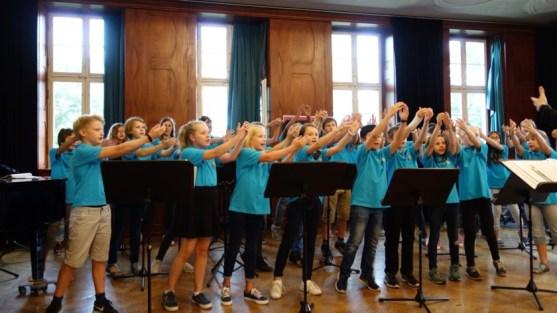 11.07.2017: Sommerkonzert mit den SG-Voices