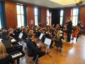 Auftritt des Orchesters im Mai 2016