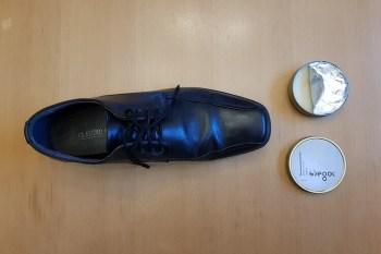 Glattlederschuhe imprägnieren Schuhwachs