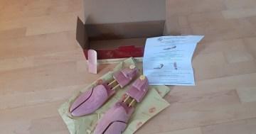Langer & Messmer Schuhspanner aus Zedernholz im Test