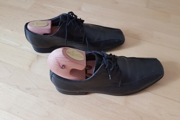 Schuhe schnell trocknen