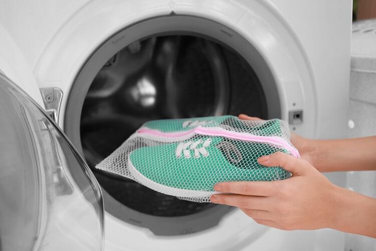 Schuhe Waschmaschine