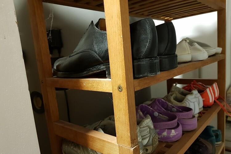 Schuhe richtig lagern