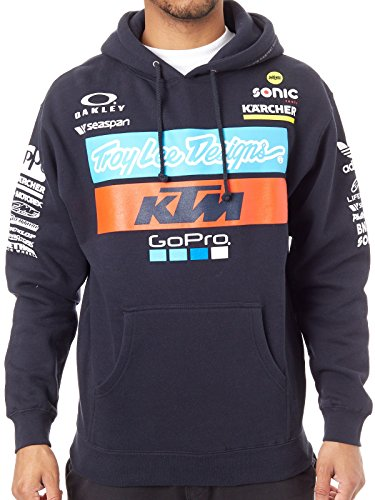 Troy Lee Designs Fleece-Hoody KTM Team Blau Gr. L