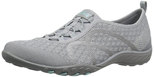 Skechers Damen Breathe Easy-Fortune Knit Sneaker, Grau (Grey), 41 EU