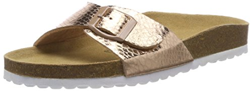 Supersoft Damen 274 639 Pantoffeln, Gold (Rosegold), 38 EU