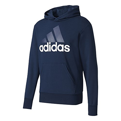 adidas Herren Essentials Linear Pullover, Collegiate Navy/White, XL