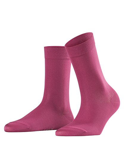 FALKE Damen Socken Cotton Touch, Rot (Burgundy 8230), 35-38