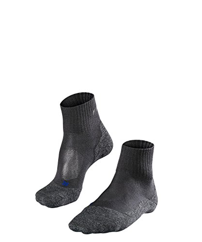 FALKE Damen TK2 Short Cool Socken, Asphalt Mel, 37-38