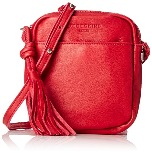 Liebeskind Berlin Damen Chiisana Suclut Umhängetasche, Rot (Blood Red), One Size