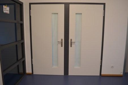 Hinter diesen Türen liegen die neuen Toiletten