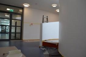 Malerarbeiten im Obergeschoss