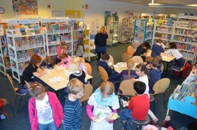 Besuch der Bücherhalle Langenhorn