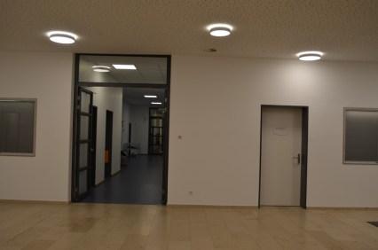 Eingang in den Verwaltungsbereich
