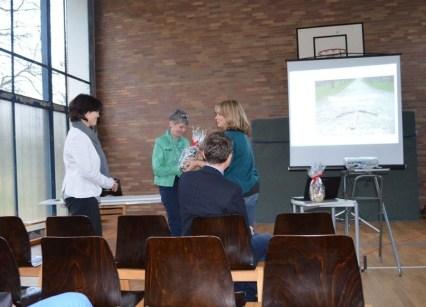 ... aber auch Frau Rawalski bedankte sich bei den Inspektoren für ihre Arbeit und die tolle Rückmeldung.