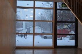 Ein Blick aus der Eingangshalle hinaus!
