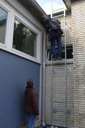 Baubesprechung auch in schwindelerregenden Höhen!
