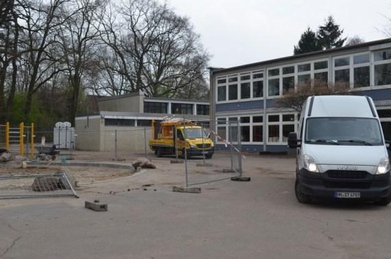 Veränderungen auf dem Schulhof