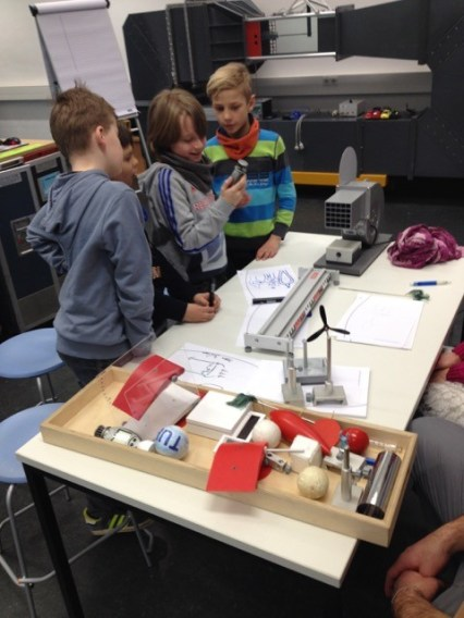 Besuch im DLR- School- Lab2