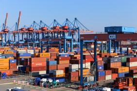Container Terminal Altenwerder (CTA) Foto: HHLA