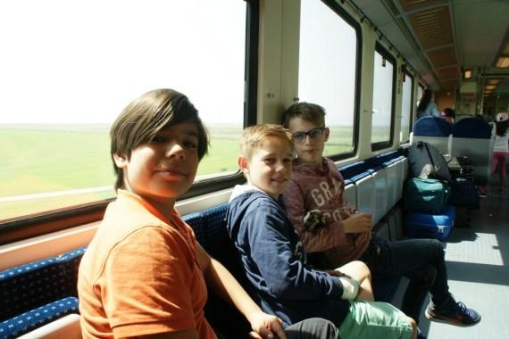 Die Fahrt mit der Nord-Ostsee-Bahn!