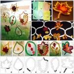 Laminierte Laubblatter Fur Die Fenster Eine Idee Fur Sachunterricht Und Kunst Blog Bildung Leben Mit Innovativem Unterrichtsmaterial