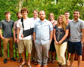 Arabivibe crew, Summer 2014: Cameron, Jeremy, Micah, Rex, Clayton, Heidi, Sam, Brett, Dhru