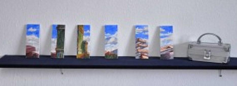 Acryl, Holz, Transportbehälter / Acrylic, wood, transport case