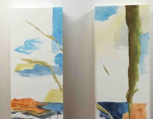 #857, Acryl, Leinwand, Detail 2