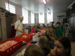 Wurstherstellung bei Knöbels