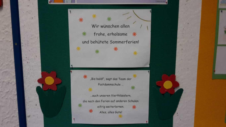 Verabschiedung Viertklässler Postdammschule 12.07 (4)