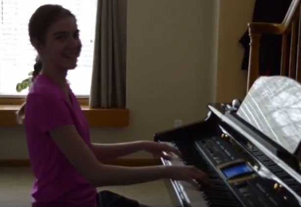 Kayla, Sonatina in D Major