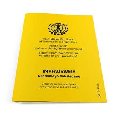 Internationaler Impfausweis Klassik Englisch-Deutsch-Kurdisch