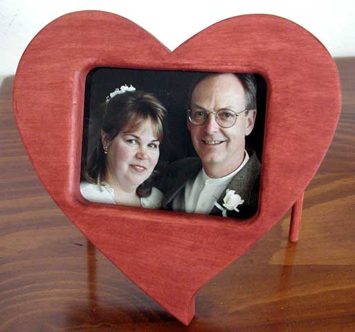 Make A Heart Shaped Wooden Picture Frame Schutte Lumber