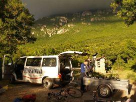 Späť v Macedónsku - pohorie Galičica