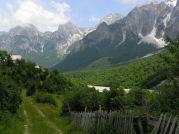 Posledná dedinka Ragam v doline Valbone - Foto: Labuda