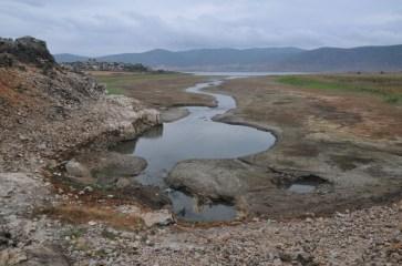 Jeden z ponorov Prespanského jazera
