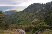 Pohľad z Malého Choča na Zadný Choč