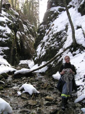Hučiaky pri Ludrovskej jaskyni