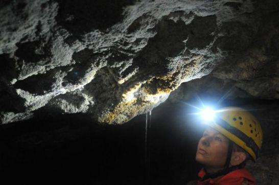 Crk v Ludrovskej jaskyni